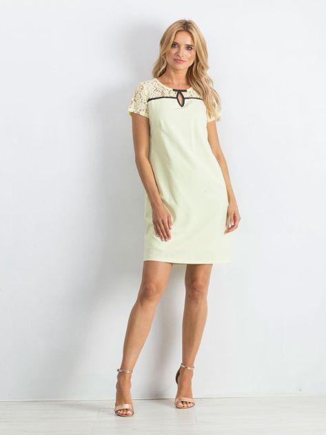 Żółta sukienka Irresistible                               zdj.                              4