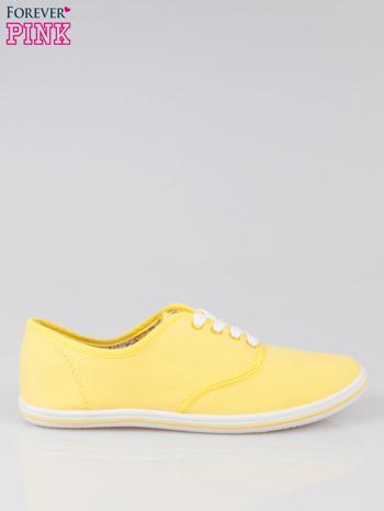 Żółte trampki z tkaniny Phillie                                   zdj.                                  1