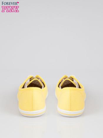 Żółte trampki z tkaniny Phillie                                   zdj.                                  3