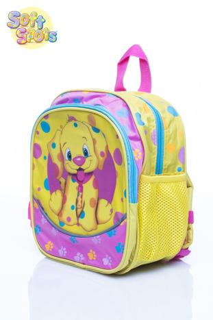 Żółty plecak na wycieczkę DISNEY Soft Spots                                  zdj.                                  2