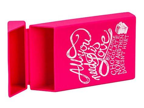 toys4smokers SLIM /Etui silikonowe na papierosy- Chocolate love                                  zdj.                                  4