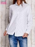 Biała koszula w drobne gwiazdki                                  zdj.                                  1