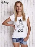 Biały t-shirt DAISY                                  zdj.                                  5