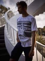 Biały t-shirt męski LOONEY TUNES                                  zdj.                                  1