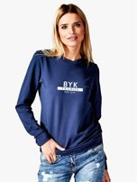 Damska bluza ze znakiem zodiaku BYK granatowa                                  zdj.                                  1
