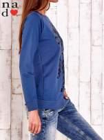 Ciemnoniebieska bluza z motywem sowy i łapacza snów                                  zdj.                                  3