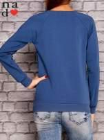 Ciemnoniebieska bluza z napisem PONIEDZIAŁEK POWINIEN BYĆ TYLKO DLA CHĘTNYCH                                  zdj.                                  4