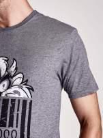 Ciemnoszary t-shirt męski LOONEY TUNES                                                                          zdj.                                                                         7