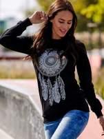Czarna bluza z łapaczem snów