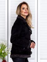 Czarna kurtka z kożuszkiem                                   zdj.                                  3
