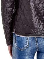 Czarna pikowana kurtka typu husky                                                                          zdj.                                                                         8
