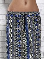 Czarna spódnica maxi w azteckie wzory                                  zdj.                                  5