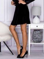 Czarna spódnica z weluru                                                                          zdj.                                                                         7