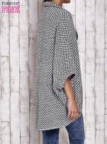 Czarny melanżowy sweter z biżuteryjną aplikacją                                  zdj.                                  5