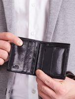Czarny pionowy elegancki skórzany portfel                                   zdj.                                  9