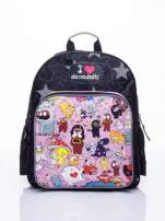 Czarny plecak szkolny DISNEY Dooodolls                                  zdj.                                  1