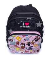 Czarny plecak szkolny DISNEY Dooodolls                                  zdj.                                  5