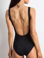 Czarny strój kąpielowy Deepest                                  zdj.                                  2