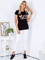 Czarny t-shirt SUPER MAMA                                  zdj.                                  4