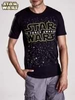 Czarny t-shirt męski motyw STAR WARS                                                                          zdj.                                                                         4
