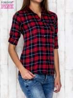 Czerwona koszula w kratkę                                  zdj.                                  3