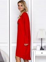 Czerwona sukienka z gwiazdą                                   zdj.                                  5