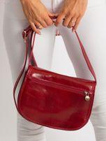 Czerwona torebka ze skóry naturalnej                                  zdj.                                  5