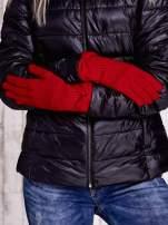 Czarne rękawiczki z kokardą w stylu retro                                                                          zdj.                                                                         2