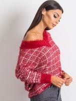 Czerwony sweter Happiness                                  zdj.                                  3