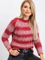 Czerwony sweter Harper                                  zdj.                                  1
