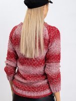 Czerwony sweter Loop                                  zdj.                                  2