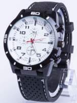 DLA NIEGO... Biały sportowy zegarek męski GT GRAND TOURING                                                                          zdj.                                                                         1