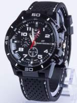 DLA NIEGO... Czarno-biały sportowy zegarek męski GT GRAND TOURING                                  zdj.                                  1
