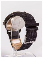 FASHION nowoczesny czarny zegarek                                   zdj.                                  3