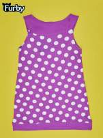 Fioletowa sukienka w groszki dla dziewczynki FURBY                                  zdj.                                  2