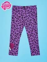 Fioletowe legginsy dla dziewczynki nadruk MY LITTLE PONY                                  zdj.                                  2