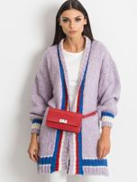 Fioletowy sweter Lavish                                  zdj.                                  1