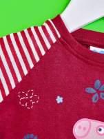 Fioletowy t-shirt dla dziewczynki ŚWINKA PEPPA                                  zdj.                                  5