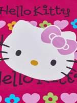 Fuksjowy t-shirt dla dziewczynki z falbankami HELLO KITTY                                  zdj.                                  4
