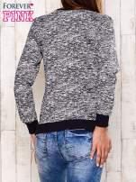 Granatowa bluza z motywem sowy                                                                          zdj.                                                                         4