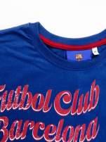 Granatowa bluzka męska FC BARCELONA                                  zdj.                                  14