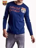 Granatowa bluzka męska FC BARCELONA                                                                          zdj.                                                                         4