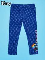 Granatowe legginsy dla dziewczynki FURBY                                  zdj.                                  1