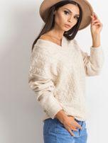 Jasnobeżowy sweter Chill                                  zdj.                                  3