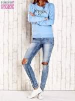Ciemnoszara bluza z napisem CITY GIRL                                                                          zdj.                                                                         2