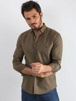Khaki koszula męska Superior                                  zdj.                                  1