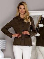 Khaki kurtka z kieszeniami                                  zdj.                                  1