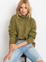 Khaki sweter Heavenly                                  zdj.                                  1
