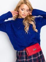 Kobaltowy sweter Victoria                                  zdj.                                  1