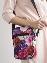 Kolorowa torebka w kwiaty                                  zdj.                                  1